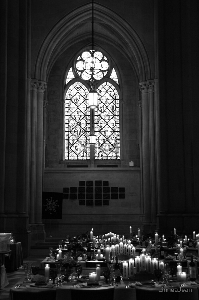 Candlelit Cathedral by LinneaJean