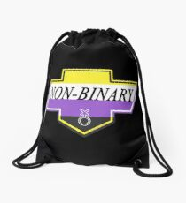 Identity Badge: Non Binary Drawstring Bag