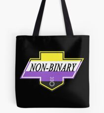 Identity Badge: Non Binary Tote Bag