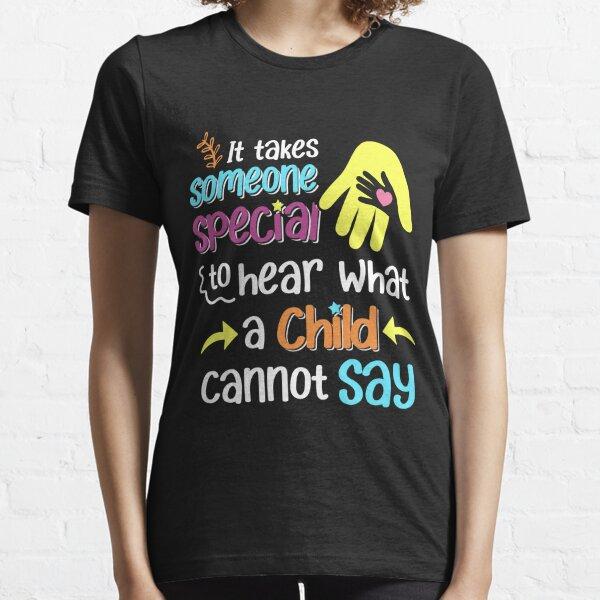 Special Ed Teacher Paraprofessional Gift Essential T-Shirt