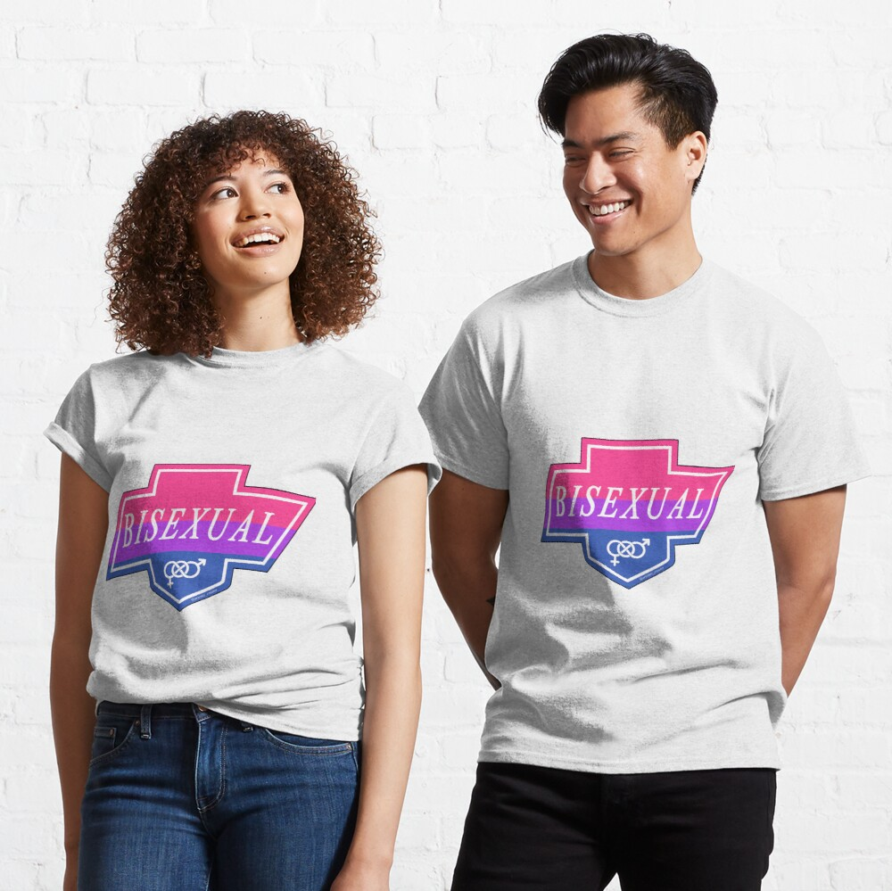 Identity Badge: Bisexual Classic T-Shirt