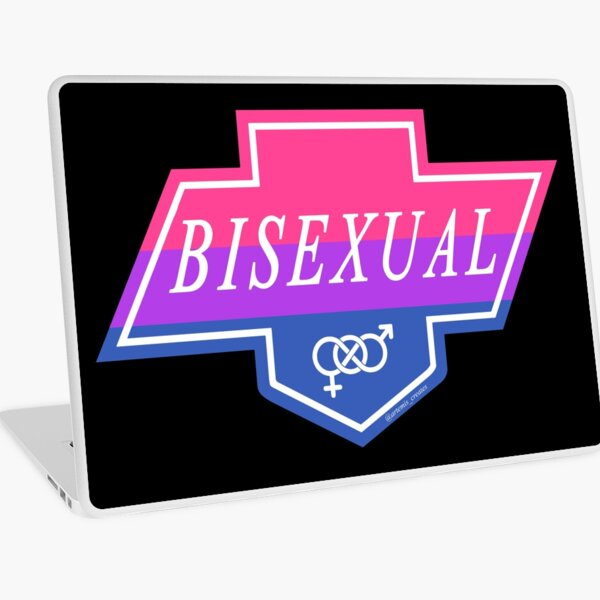 Identity Badge: Bisexual Laptop Skin