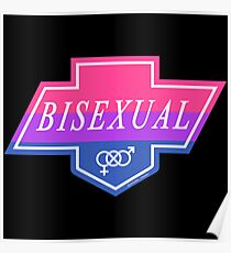Identity Badge: Bisexual Poster