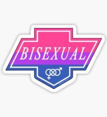 Identity Badge: Bisexual Sticker