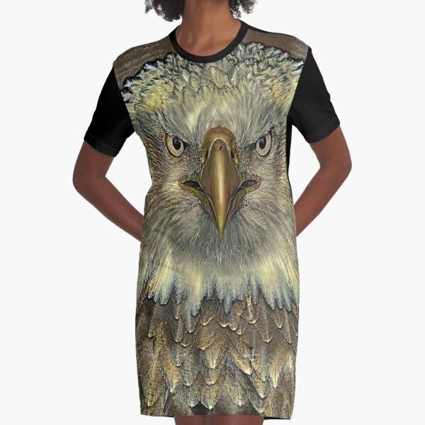 GOLDENER ADLER T-Shirt Kleid