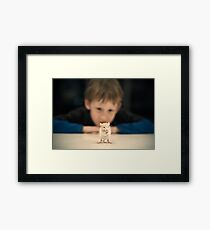Louis and Stewie.... Framed Print