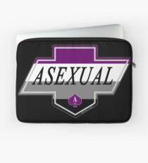 Identity Badge: Asexual Laptop Sleeve