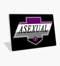 Identity Badge: Asexual Laptop Skin
