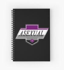 Identity Badge: Asexual Spiral Notebook