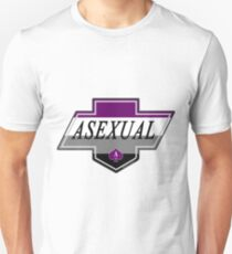 Identity Badge: Asexual Slim Fit T-Shirt