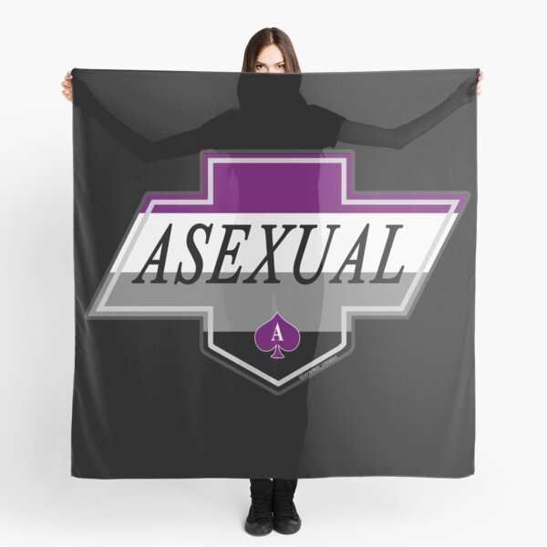 Identity Badge: Asexual Scarf