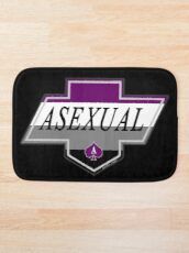 Identity Badge: Asexual Bath Mat