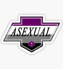 Identity Badge: Asexual Sticker