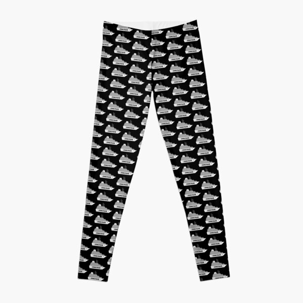 CrimeCruise True Crime Fan Leggings