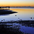 Pre dawn at Shorncliffe. Brisbane, Queensland, Australia. (2) by Ralph de Zilva