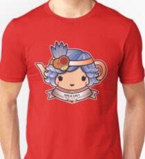 Girlie Grey Teapot Slim Fit T-Shirt