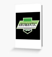 Identity Badge: Aromantic Greeting Card