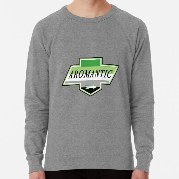 Identity Badge: Aromantic Lightweight Sweatshirt