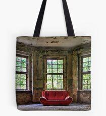 Red Sofa Tote Bag