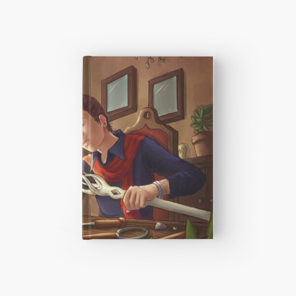 Magical Staff Builder Hardcover Journal
