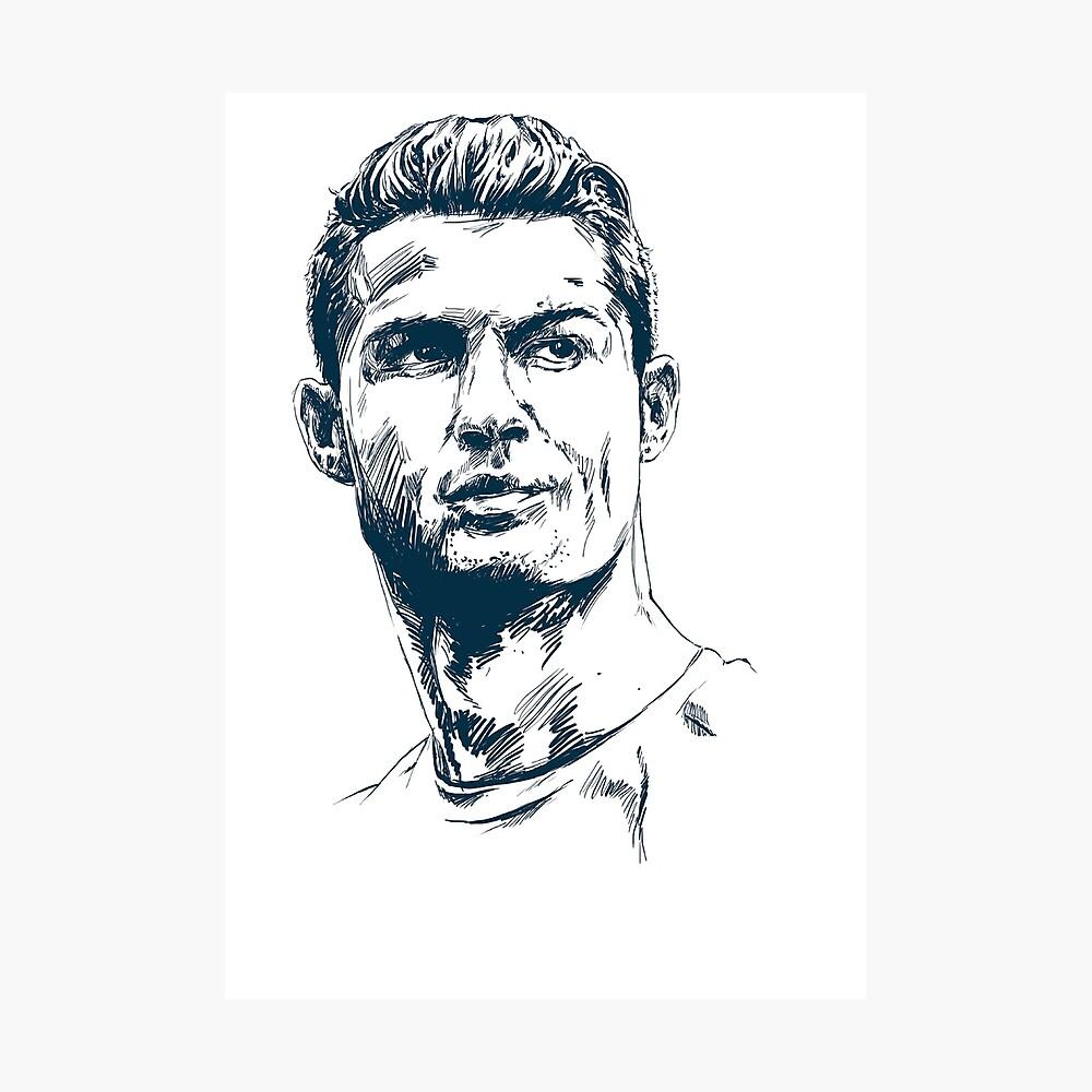 C Ronaldo Art Poster By Clinicstars Redbubble