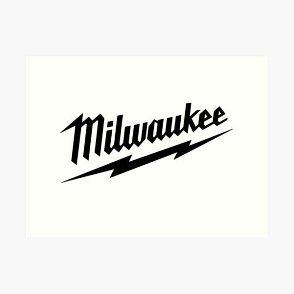 Milwaukee Heavy Duty Tools T-shirt Sticker Art Print