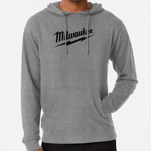 Milwaukee Heavy Duty Tools T-shirt Sticker Lightweight Hoodie