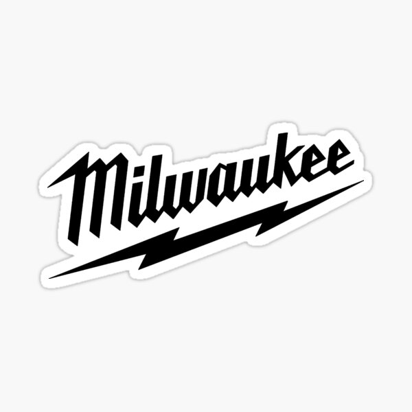 Milwaukee Heavy Duty Tools T-shirt Sticker Sticker