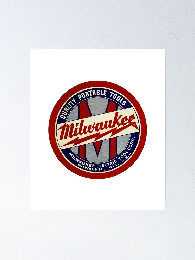 Alternate view of Copy of Milwaukee Heavy Duty Tools T-shirt Sticker Poster