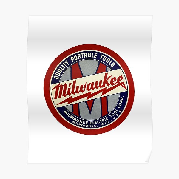Copy of Milwaukee Heavy Duty Tools T-shirt Sticker Poster