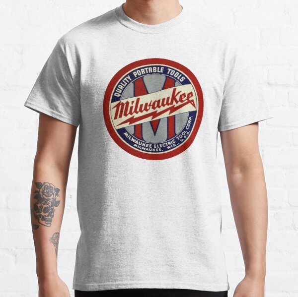 Copy of Milwaukee Heavy Duty Tools T-shirt Sticker Classic T-Shirt