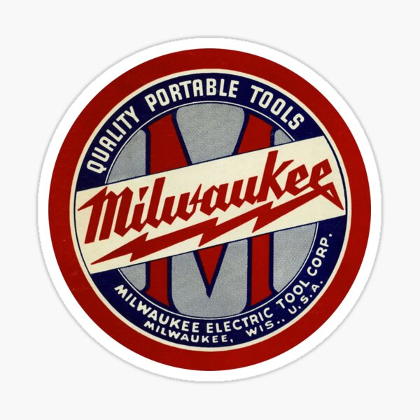 Copy of Milwaukee Heavy Duty Tools T-shirt Sticker Sticker