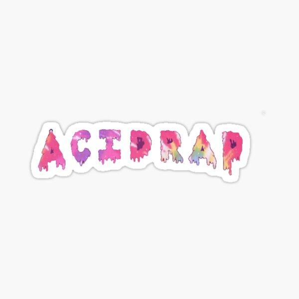 acid rap chance the rapper Sticker