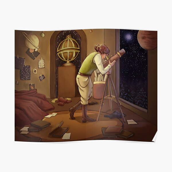 Astronomer Poster