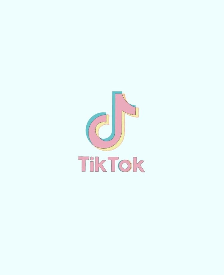 Pastel Tik Tok Logo Ipad Case Skin By Zmacklowe Redbubble