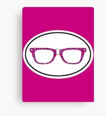 Glitter Geek Canvas Print