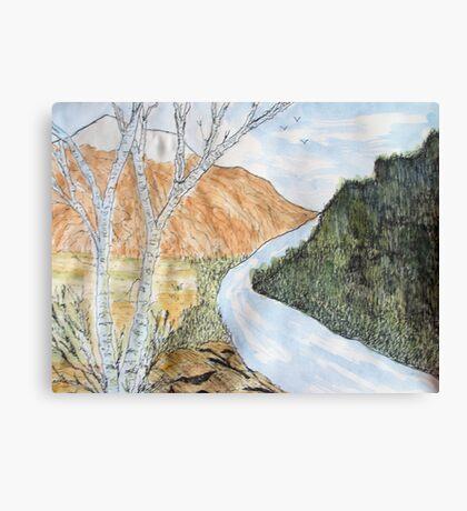 River Deep..... Mountain High Canvas Print