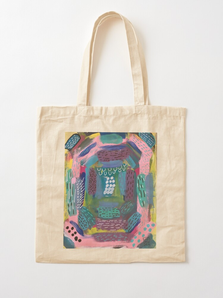Alternate view of The Impression of the Electric Element  Tote Bag