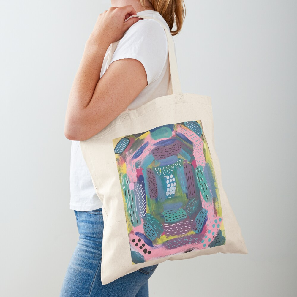 The Impression of the Electric Element  Tote Bag
