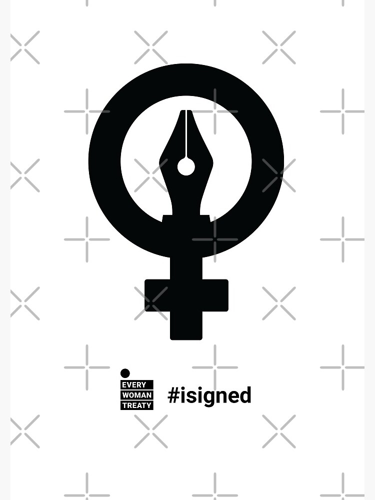 Pen #isigned English, Every Woman Treaty  by WomanTreaty