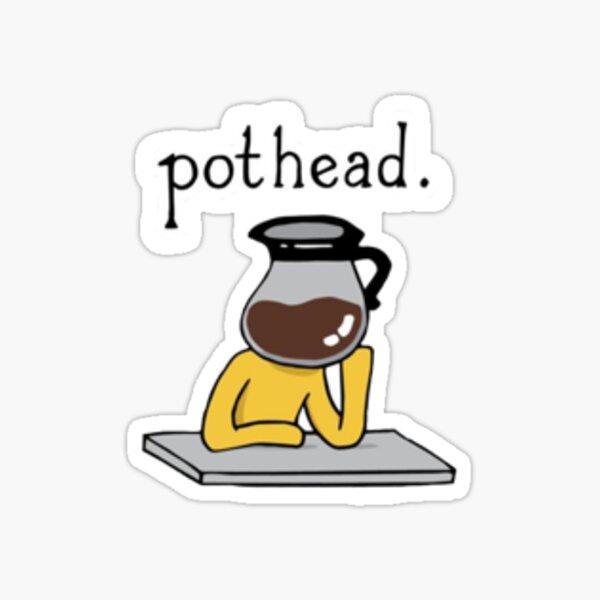 """""""PotHead"""" Sticker Sticker"""
