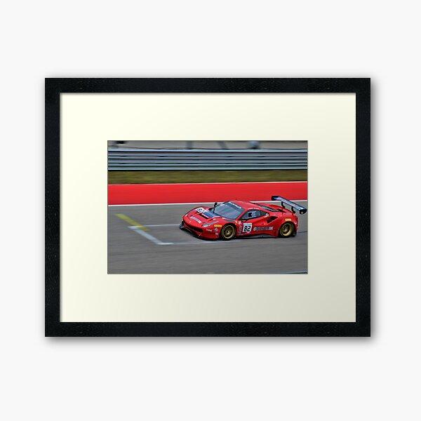 Blancpain Ferrari Framed Art Print
