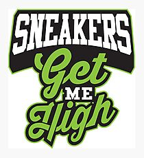 Sneakers Get Me High  Photographic Print