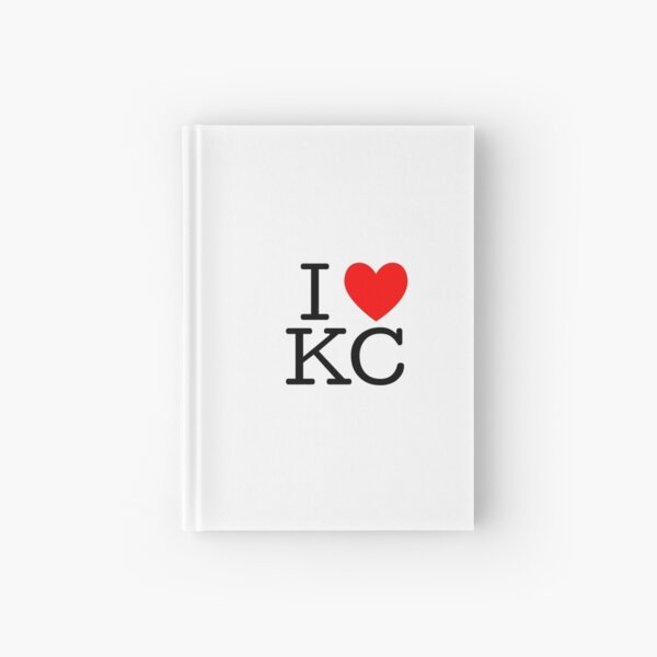 I Heart KC Hardcover Journal