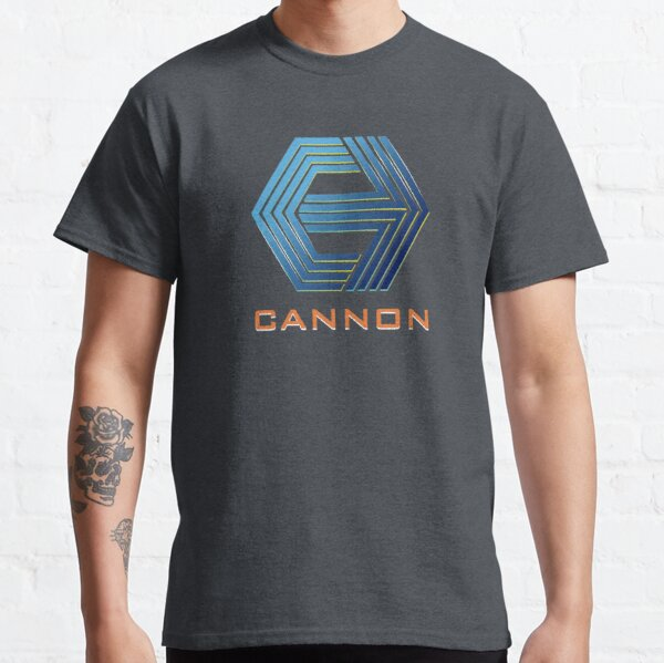 Cannon films! Camiseta clásica
