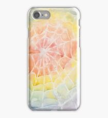 Rainbow Web Watercolor iPhone Case/Skin