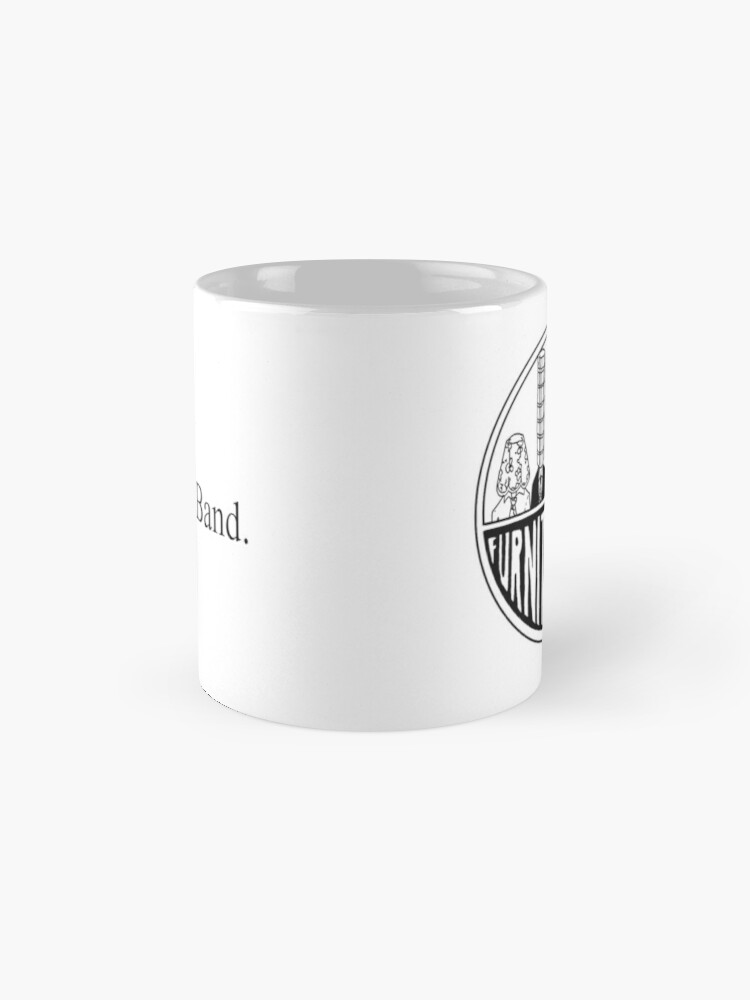 Alternate view of Furniture Party Band Logo Mug
