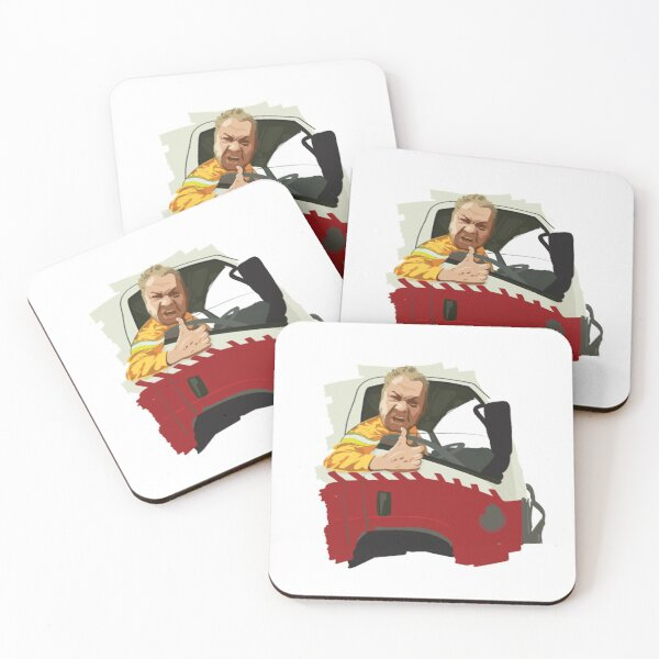 "Paul Parker - ""Tell the PM to go and get F##KED"" - RFS Charity Appeal Coasters (Set of 4)"