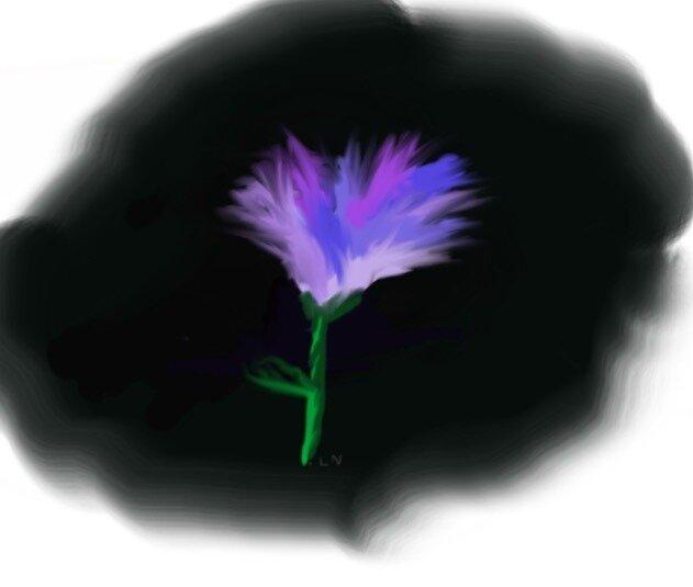 Galaxy Flower by lennyboy333