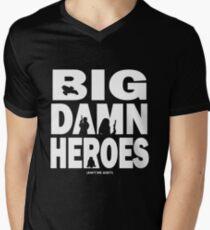 Big Damn Heroes White Men's V-Neck T-Shirt